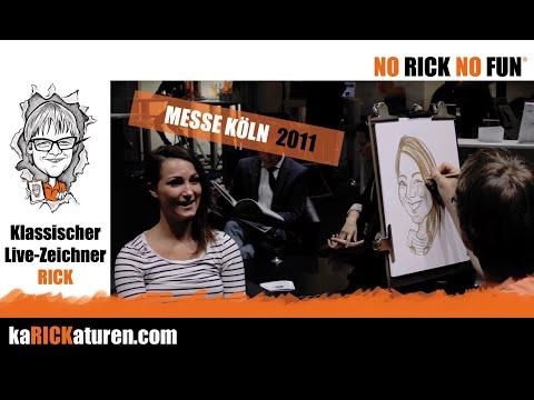 Schnellzeichner RICK … humorvoll, schnell & stilvoll – Karikaturist aus Köln für Events & Messen!