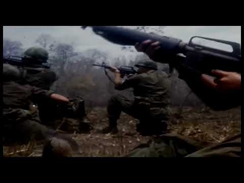 Alice In Chains - Rooster - Vietnam War Combat Footage HD