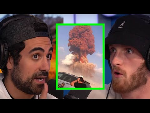LOGAN PAUL REACTS TO THE EXPLOSIONS IN LEBANON