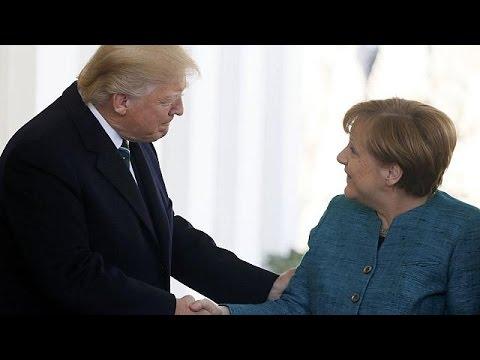 Άνγκελα Μέρκελ-Ντόναλντ Τραμπ: Δύο «ξένοι» στον Λευκό Οίκο