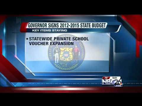 Walker Signs 2-year, $70 Billion Budget