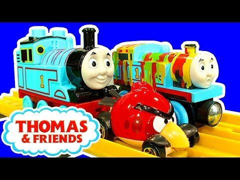 thomas - Unboxing toy review and build of the Thomas & Friends Mega Bloks construction bricks playset 10631 (130 pieces) which features a buildable Thomas the Tank an...