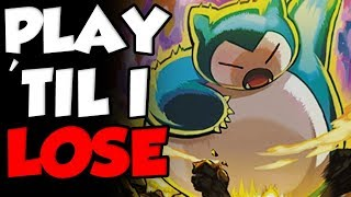 Snorlax Sweep Edition - Play Til I Lose Pokemon Let's Go WiFi Battles by Verlisify