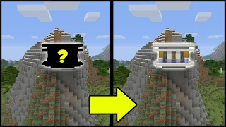 Minecraft Tutorial: How To Make A Modern Hill House