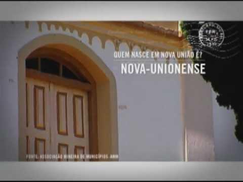 Série Cidades de Minas - Nova União
