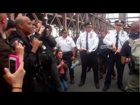 Wall Street protesters arrested on Brooklyn Bridge