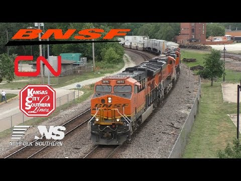 Railfanning Fort Madison BNSF Southern Transcon