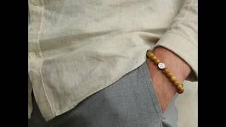 Sem Lewis Piccadilly South Kensinton kralenarmband meerkleurig (8 mm kraal)
