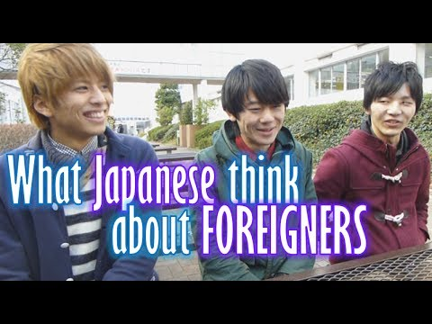 japanese - An interview of Japanese university students on what they think about foreigners and foreign countries. Like our other interviews it's just for fun so don't ...