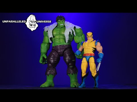 Marvel Legends 80th Anniversary Hulk and Wolverine 2 Pack Action Figure Review
