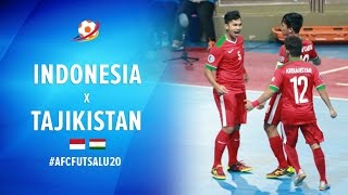Video Indonesia (5) VS (3) Tajikistan - AFC Futsal Championship 2017 U20 MP3, 3GP, MP4, WEBM, AVI, FLV Mei 2017