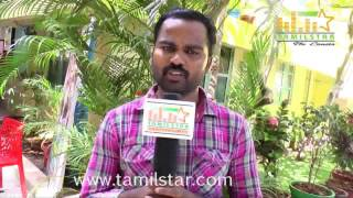Madhu Raj at Chennai Ungalai Anbudan Varaverkiradhu Movie Team Interview