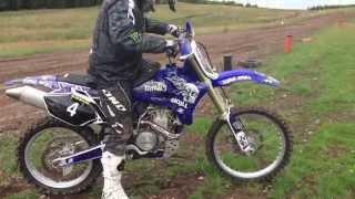 9. Yamaha YZ450F 2005