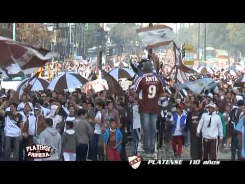 Calamares en las Calles y editorial final contra la violencia - La Banda Más Fiel - Atlético Platense