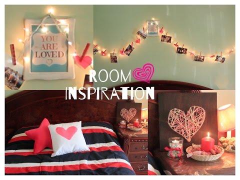 Diy decora tu cuarto room inspiration san valentin for Decoracion san valentin