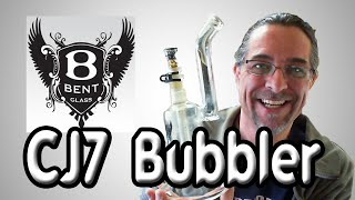 Bent Glass Capsule C7 11.5 Inch Bubbler from Smoke Fox UNBOXING by Sound Experiments