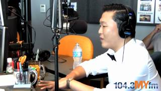 Psy Talks With 104.3MYFM's Valentine In The Morning