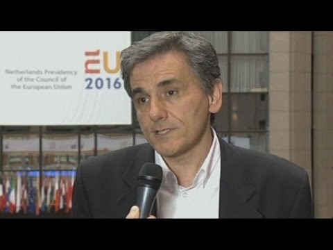 Δηλώσεις του Ε.Τσακαλώτου μετά το πέρας των εργασιών του Eurogroup