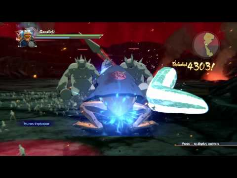 Naruto Shippuden: Ultimate Ninja Storm 4 - Gameplay Video: Fourth Shinobi World War (Phase 1)