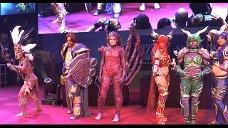 Gamescom 2014 - Blizzard costume contest part I - corpse tree special