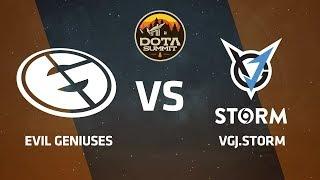 Evil Geniuses против VGJ.Storm, Первая карта, DOTA Summit 9 LAN-Final