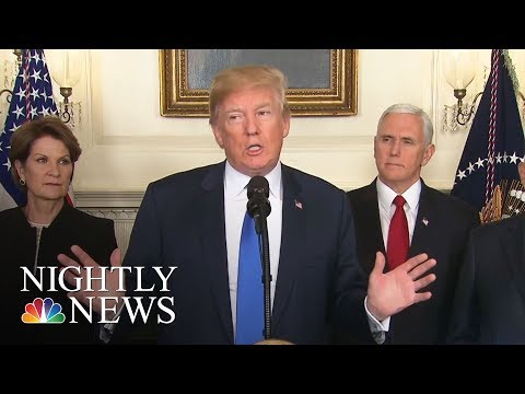 President Donald Trump Seeks New China Tariffs As Trade War Worries Mount | NBC Nightly News