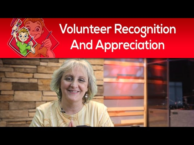 Children's Ministry Volunteer Recognition & Appreciation