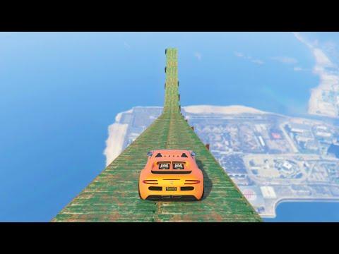 WORLD'S HIGHEST RAMP (GTA 5 Funny Moments)