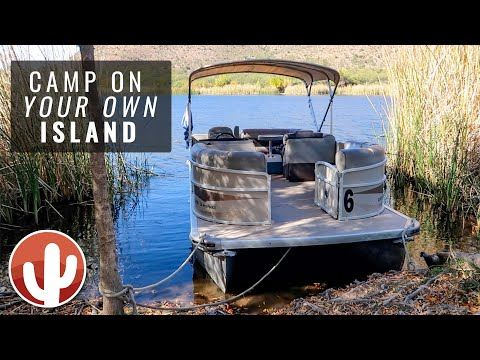 Boat-in Camping at Patagonia Lake State Park | Beautiful Fall Day on the Lake