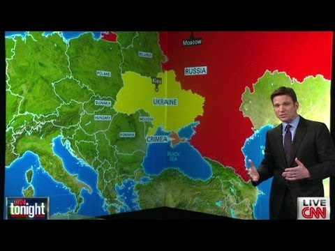europe - In describing the unrest in Ukraine, Bill Weir suggests that the country is one