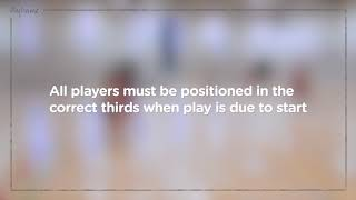 Rules - Start of Play - Rule 8.1