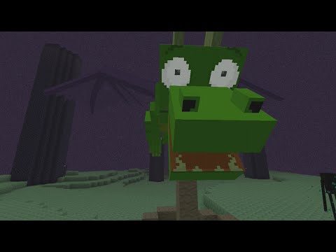 Minecraft (Xbox 360/PS3) - CARTOON TEXTURE PACK - FULL SHOWCASE! + First Impressions