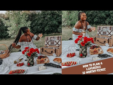 How to throw an AFFORDABLE IG WORTHY LUXURIOUS PICNIC !
