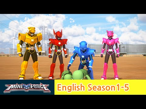 [English ver.dub ]MINIFORCE Season1 Ep.5:Courage of Turtles