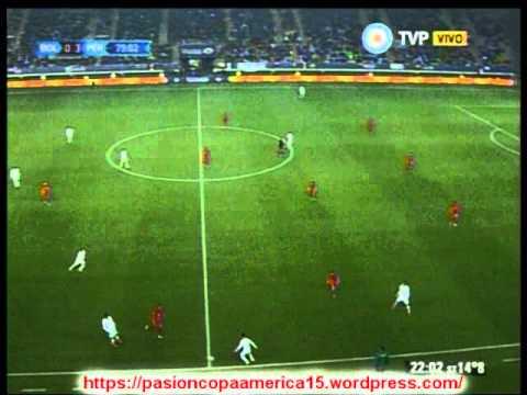 Peru 3 Bolivia 1 (Relato  German Sosa)  Copa America 2015
