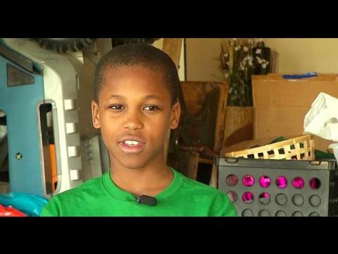 這位才10歲小男孩在「鄰居的嬰兒被活活熱死」後開發了這個裝置,天底下許多父母都需要一個!