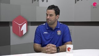 Gost Ivan Kvesić, trener ŽNK Široki Brijeg
