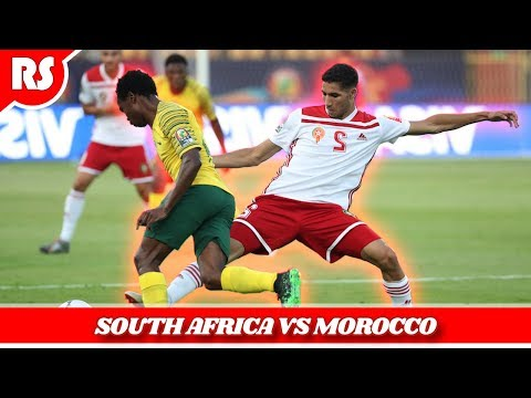 South Africa vs Morocco (0-1) AFCON 2019