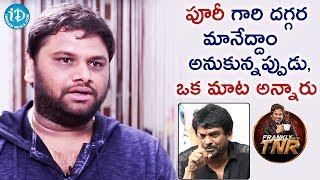 Video Editor SR Shekhar About Puri Jagannadh || Frankly With TNR || Talking Movies With iDream MP3, 3GP, MP4, WEBM, AVI, FLV April 2018