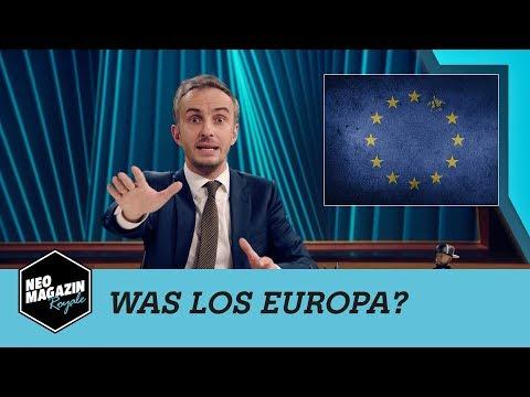 Was los Europa? | NEO MAGAZIN ROYALE mit Jan Böhmermann - ZDFneo