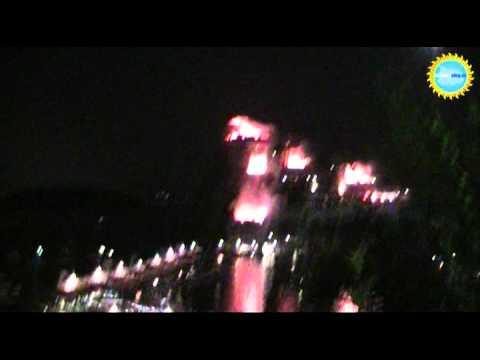 L'incendio del Castello aragonese alla Festa di Sant'Anna ad Ischia