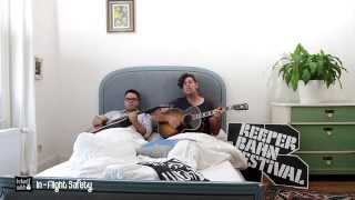 In-Flight Safety - Animals - acoustic for In Bed with at Reeperbahn Festival 2014