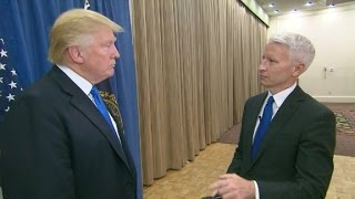 Video Donald Trump's interview with Anderson Cooper (Part 1) MP3, 3GP, MP4, WEBM, AVI, FLV April 2018