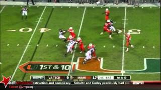 Stephen Morris vs Virginia Tech (2012)