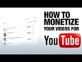 How To Monetize YouTube Videos 2017 (Urdu)
