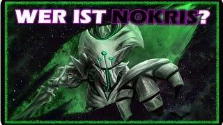 Nokris kennt man im Spiel nur von der Statue auf den Grabschiff. Es gibt einige Theorien über diesen Schar Gott! Die am meisten verbreitet ist das Norkis der ...