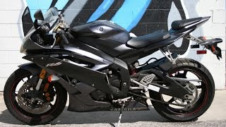 6. 2007 Yamaha YZF600 R6 ... Great Mid Sized Supersport