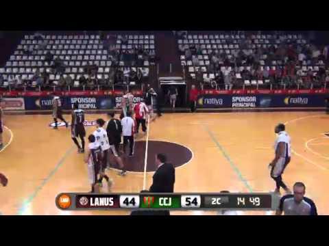 Lanús vs Ciclista (J) playoffs de la Liga Nacional