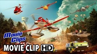 Planes: Fire&Rescue Movie CLIP - Drop The Needle (2014) HD