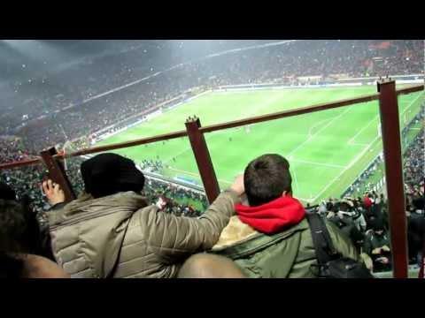Milan, Barcellona 2 - 0 ( 20 febbraio 2013) Champion League - Con Manuel e Romina GESICO :)